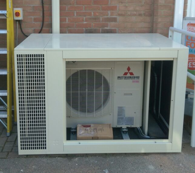 Air Conditioning Acoustic Enclosures installed by ICE Ltd