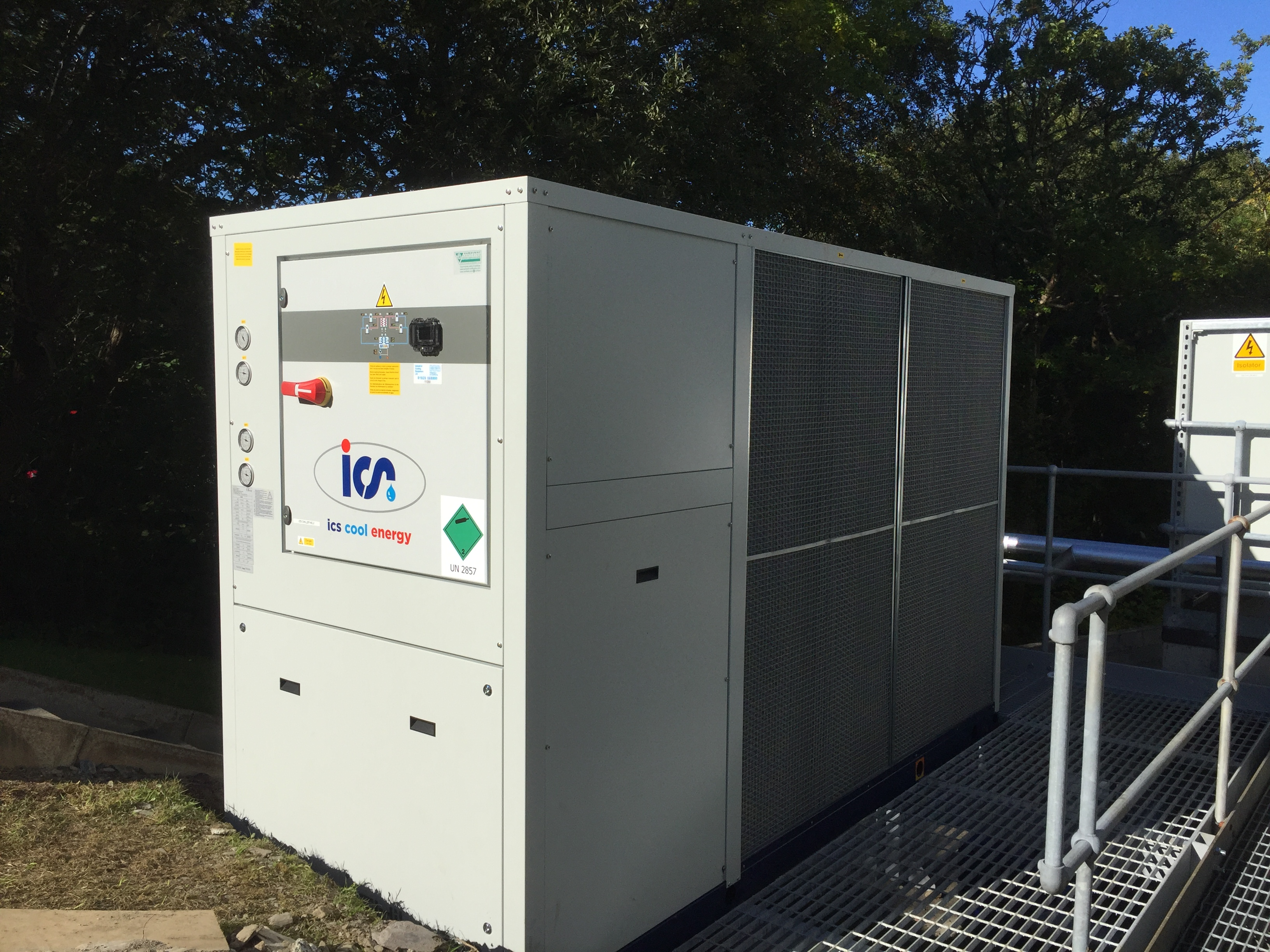water/glycol chiller