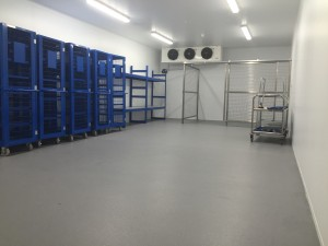 Cold storage room installed by ICE Ltd