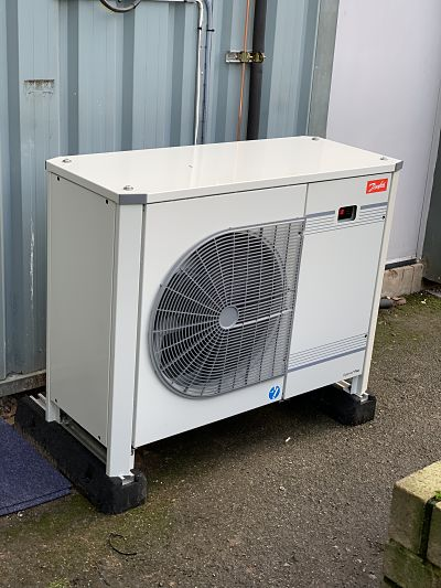 Refrigeration Installation Photo of Danfoss Condensing Unit